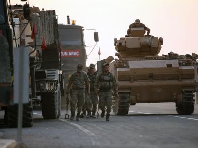 Operación de Turquía en Siria