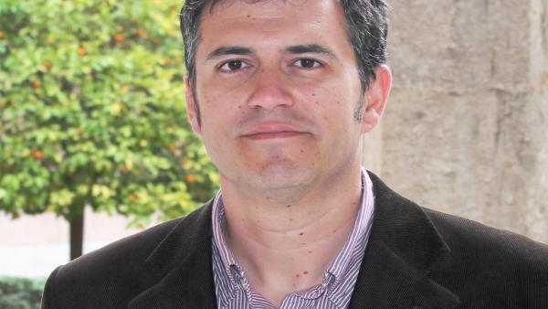 El secretario territorial de CHA-Alto Aragón, Joaquín Palacín