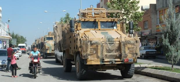 Ejército turco en el norte de Siria