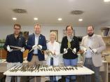 El Museo de la Cuchillería de Albacete recibe en depósito por cuatro años una colección de 600 navajas antiguas de un coleccionista holandés.