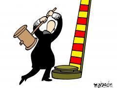 'Sentencia del procés', viñeta de Malagón.