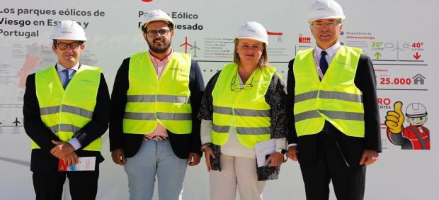 Viesgo inaugura un parque eólico en Puerto Real