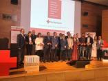Entrega de reconocimientos a empresas y entidades colaboradoras de Cruz Roja en Jaén.