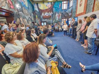 Acto institucional con motivo del 'Día de la Salud Mental'