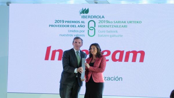 Ingeteam recoge el reconocimiento de Iberdrola por su compromiso con la internacionalización