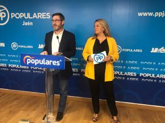 Miguel Contreras y Ángela Hidalgo
