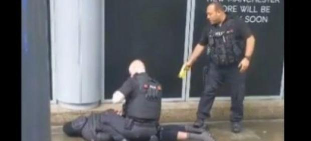 Detención en Manchester