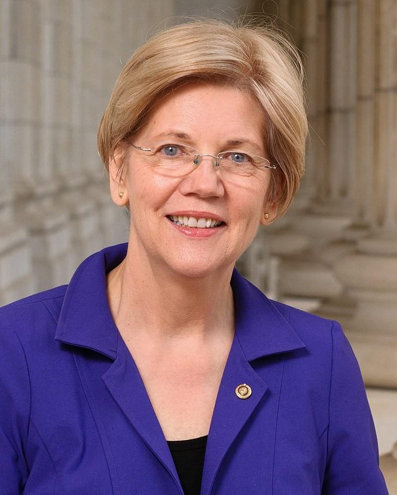 Elizabeth Warren, precandidata demócrata.