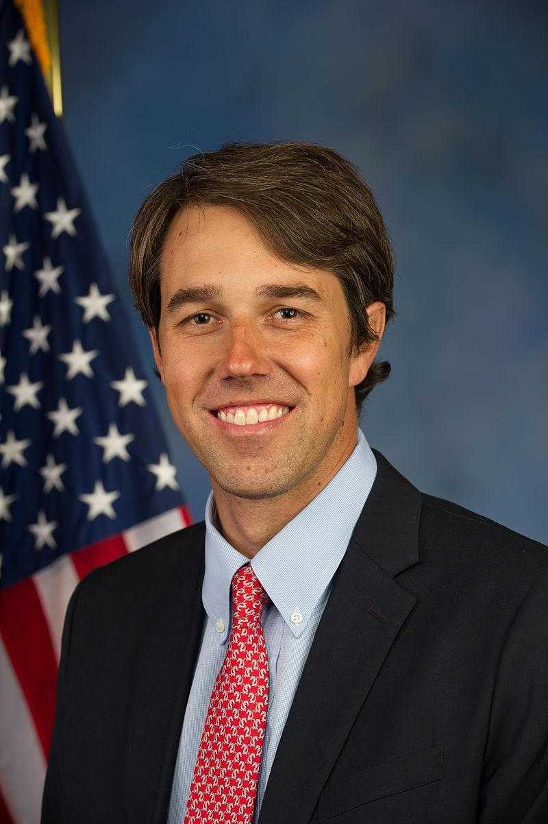 El precandidato demócrata Beto O'Rourke.