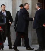 Manuel Marchena, a su llegada al Supremo