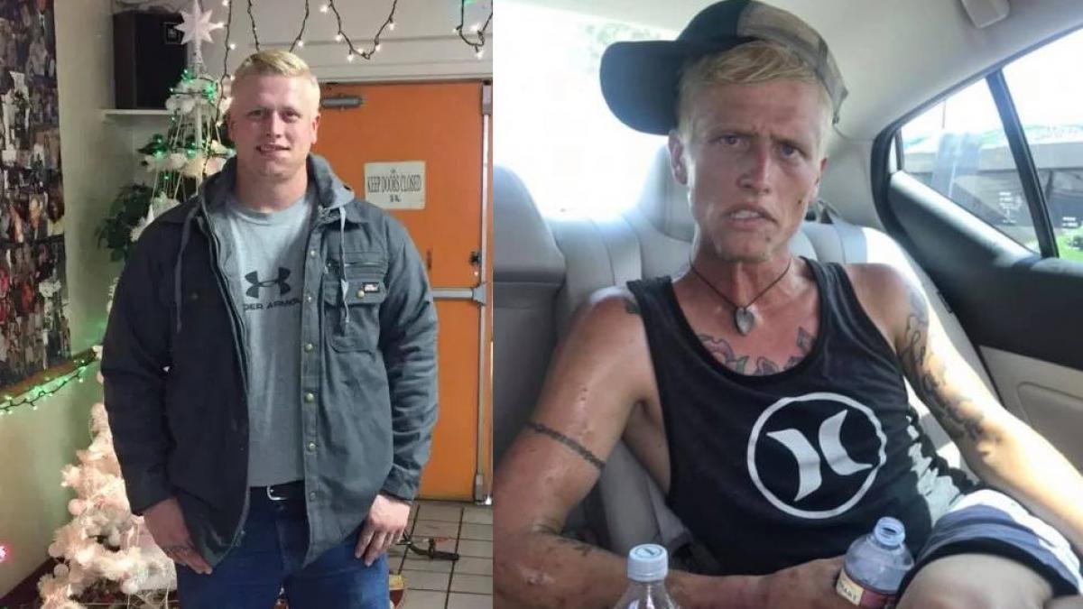 Una madre comparte el antes y el después de su hijo adicto a la heroína