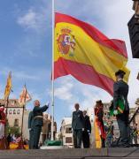 Acto institucional con motivo de la Virgen del Pilar, festividad de la Guardia Civil, en Jaén