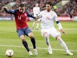 Sergio Ramos, en su partido 168 con la selección española