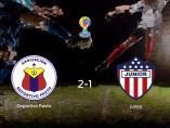 Los tres puntos se quedan en casa: Deportivo Pasto 2-1 Junior de Barranquilla