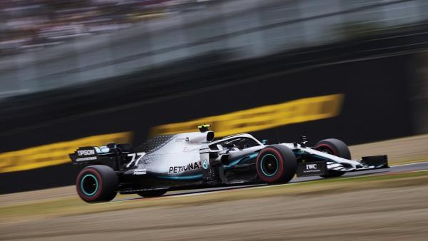 Victoria de Bottas que certifica el sexto título de Mercedes en el mundial de constructores