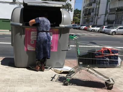 Andalucía sigue sufriendo altos índices de pobreza