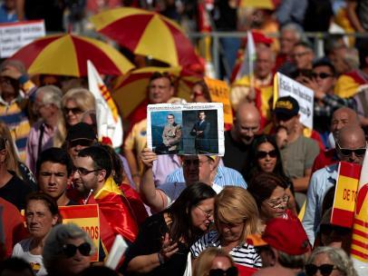 Manifestación Día de la Hispanidad Barcelona 2019