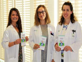 Profesionales sanitarias del hospital de Villarrobledo