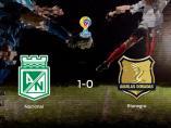 El At. Nacional se hace fuerte en casa y gana al Rionegro Águilas