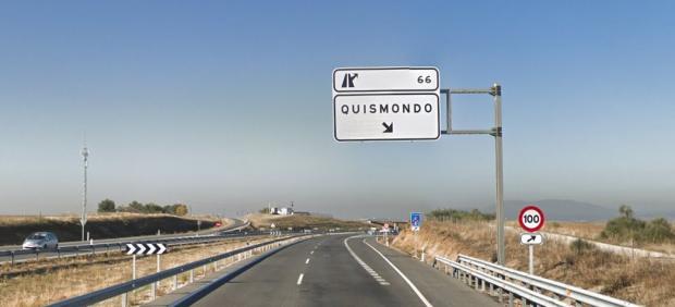 A5 en Quismondo, Toledo