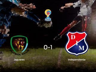 El Independiente Medellin vence 0-1 en el feudo del Jaguares FC