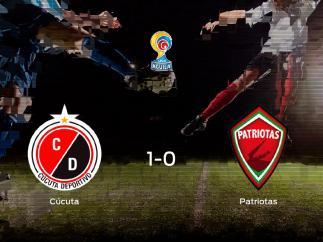 Los tres puntos se quedan en casa tras el triunfo del Cúcuta Deportivo frente al Patriotas Boyacá (1-0)