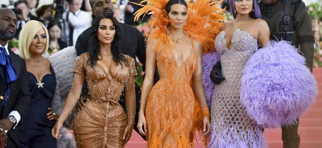 Kim Kardashian en el Met 2019