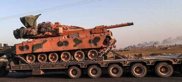 Tanques turcos al norte de Siria
