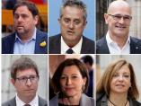 Los 12 condenados del procés