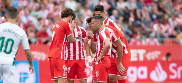 Jugadores del Girona