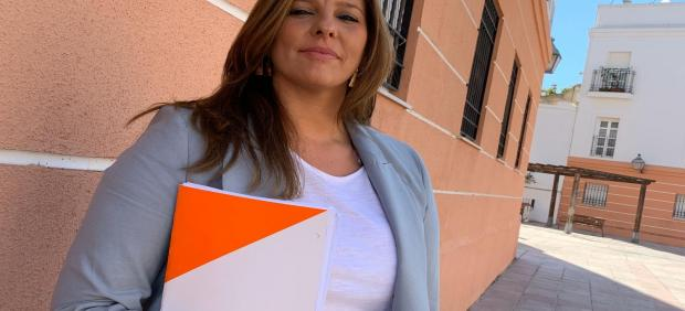 Estefanía Brazo, diputada provincial de Cs en la Diputación de Cádiz