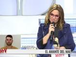 Toñi Moreno conversa por teléfono con Alberto, el amante de Maestro Joao