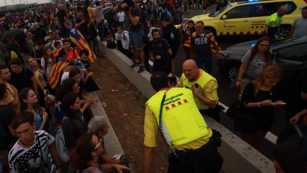 Ambulancia del SEM en el Prat