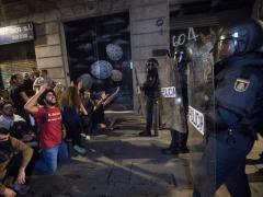 Protestas por la sentencia del juicio del 'procés'