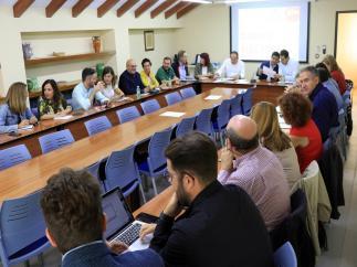 Reunión del Comité Electoral del PSOE de Jaén