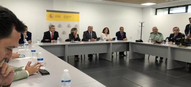 La ministra de Sanidad reunida en Algeciras con los colectivos de lucha contra la droga