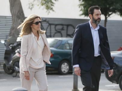 Miguel López, María del Carmen Martínez, viuda del expresidente Caja de Ahorros del Mediterráneo (CAM) Vicente Sala, juicio