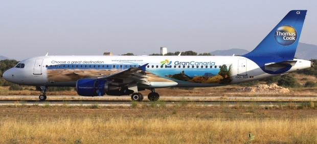 Avión de Thomas Cook