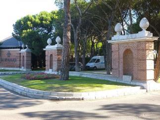 Urbanización La Moraleja, en Alcobendas (Madrid).