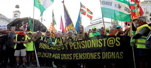 Marcha de Pensionistas