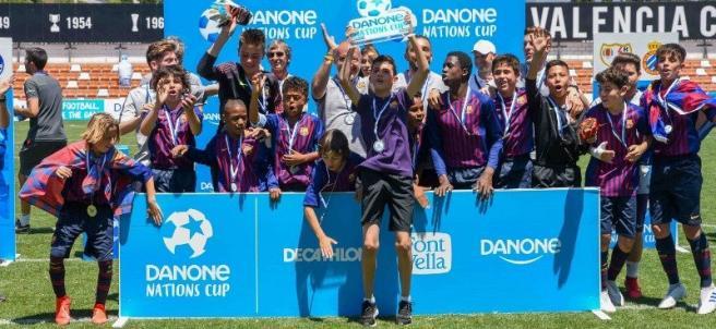 FC Barcelona en la Danone Nations Cup