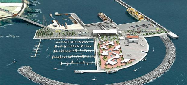 Proyecto del puerto de Fonsalía