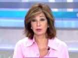 Ana Rosa durante la conexión en directo con la periodista Mayka Navarro