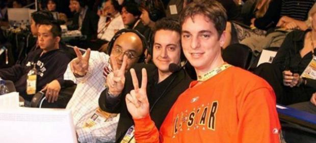 Andrés Montes, Antoni Daimiel y Pau Gasol