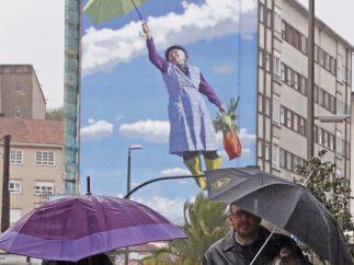 Primeros paraguas de la temporada