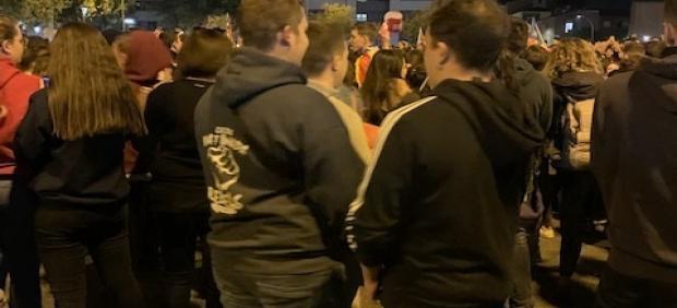 2.000 personas protestan en Lleida por las detenciones en los altercados de este martes