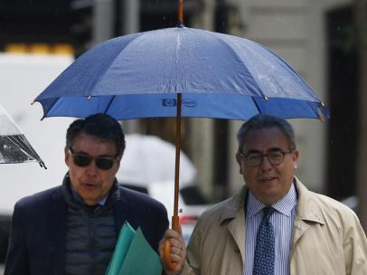 El expresidente madrileño, Ignacio González testifica en el caso Púnica.