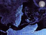 Iceberg de 35 kilómetros en la Antártida
