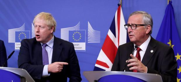 Johnson y Juncker