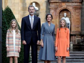 Las mejores imágenes de la familia real en los Princesa de Asturias 2019